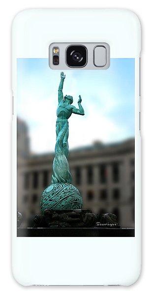 Cleveland War Memorial Fountain Galaxy Case