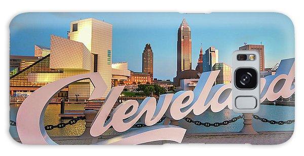 Cleveland's North Coast Galaxy Case by Brent Durken