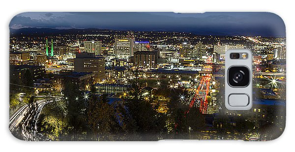 Cliff Drive Rush Hour - Spokane  Galaxy Case