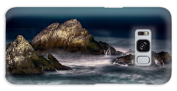 Cliff House San Francisco Seal Rock Galaxy Case by Steve Siri