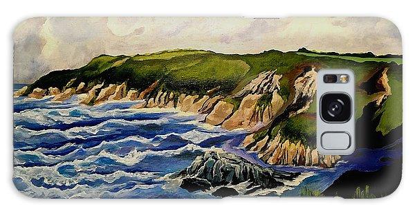 Cliffs And Sea Galaxy Case