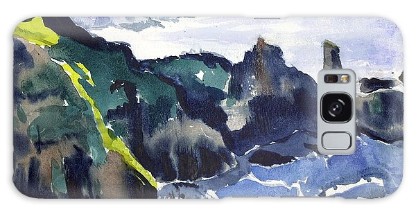 Cliffs In The Sea Galaxy Case