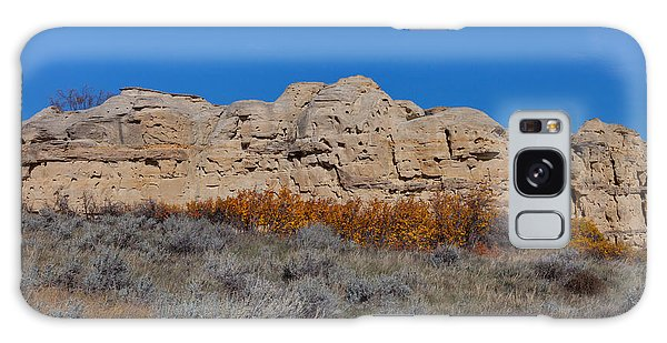 Galaxy Case featuring the photograph Cliffs Of Hoodoos by Fran Riley