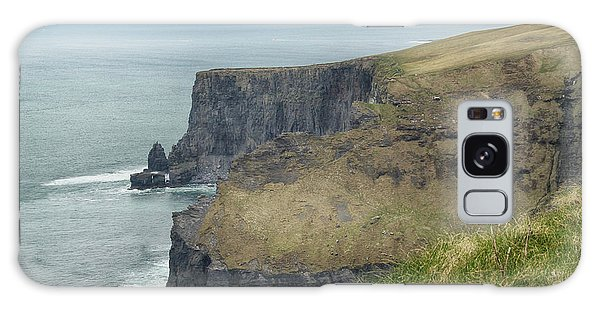 Cliffs Of Moher 1 Galaxy Case by Marie Leslie