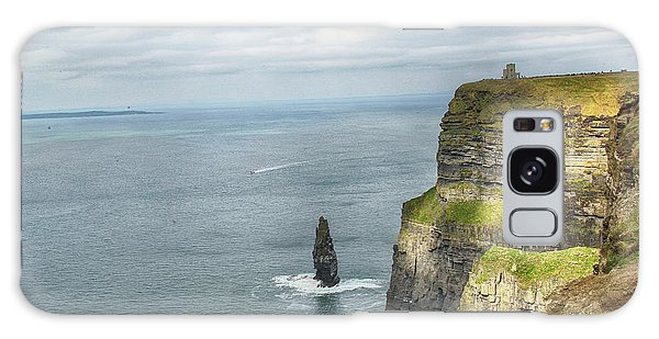 Cliffs Of Moher 3 Galaxy Case by Marie Leslie