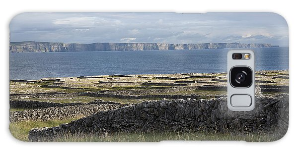 Cliffs Of Moher From Inisheer Galaxy Case