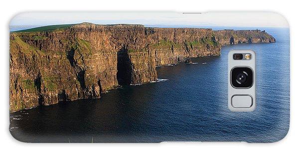 Cliffs Of Moher In Evening Light Galaxy Case