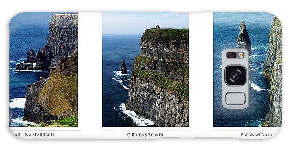 Cliffs Of Moher Ireland Triptych Galaxy Case