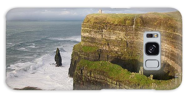 Cliffs Of Moher Galaxy Case by Louise Fahy