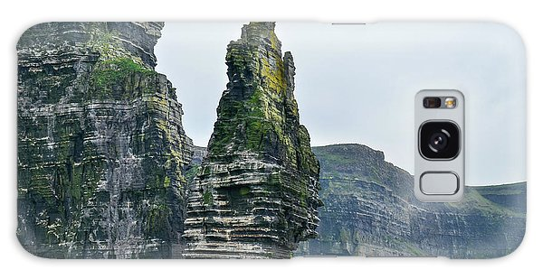 Cliffs Of Moher Sea Stack Galaxy Case
