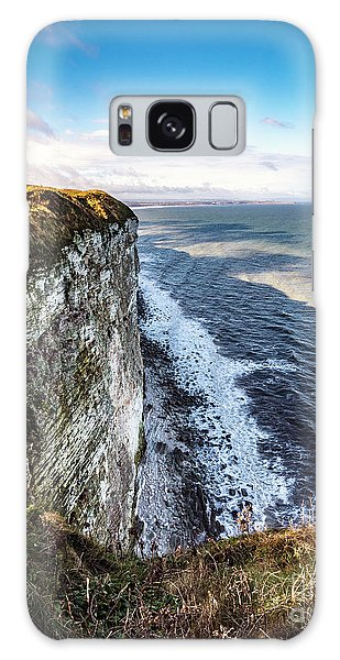 Galaxy Case featuring the photograph Cliffside View by Anthony Baatz