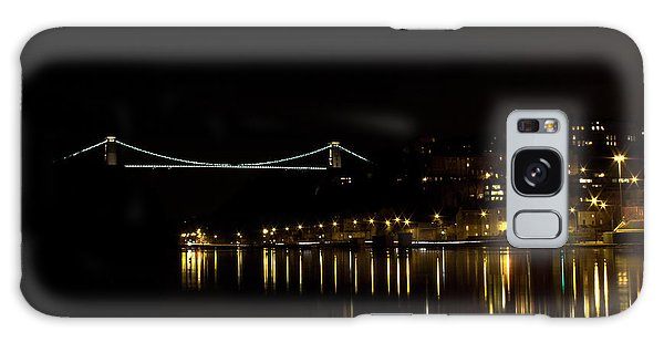 Clifton Suspension Bridge At Night Galaxy Case