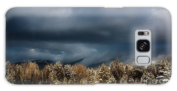 Clinging Clouds Of Winter Galaxy Case