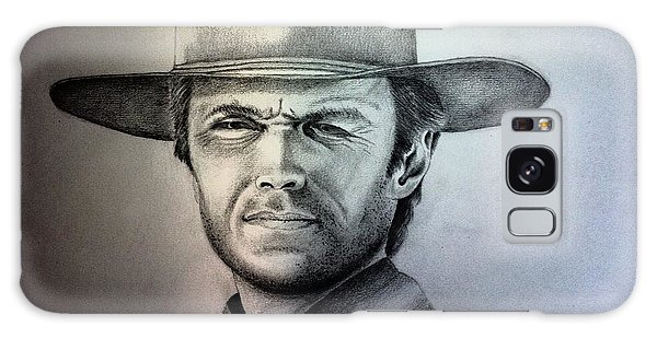 Clint Eastwood Portrait  Galaxy Case