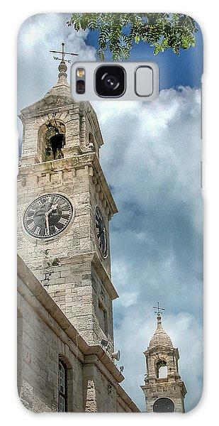 Clock Tower At Navel Dockyard - Bermuda Galaxy Case