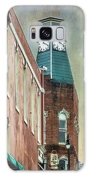 Clock Tower Downtown Statesville North Carolina Galaxy Case