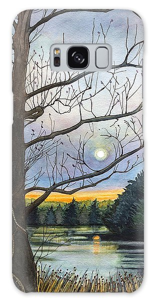 Close To Dusk Galaxy Case