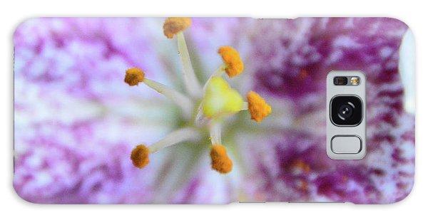 Close Up Flower Galaxy Case