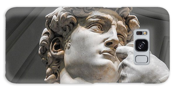 Close Up Of David By Michelangelo Galaxy Case