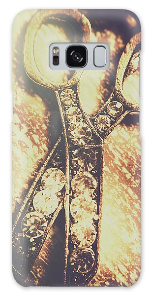 Metal Galaxy Case - Close Up Of Jewellery Scissors Of Bronze by Jorgo Photography - Wall Art Gallery