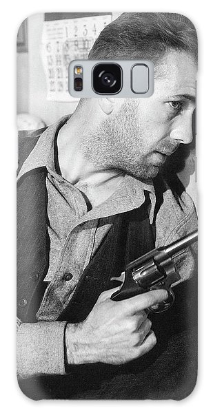 Close-up Up Of Humphrey Bogart As Duke Mantee With Gun The Petrified Forest 1936 Galaxy Case