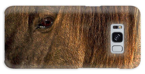 Closeup Of An Icelandic Horse #2 Galaxy Case
