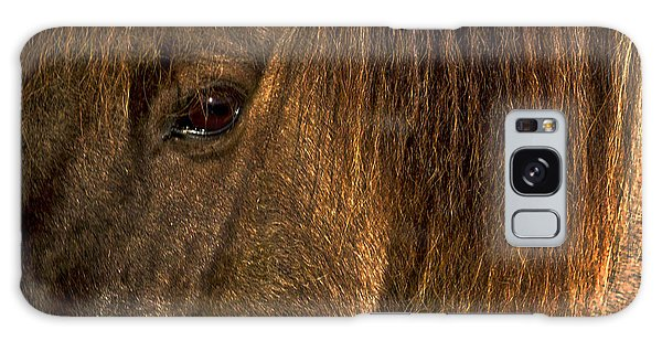 Closeup Of An Icelandic Horse #2 Galaxy Case