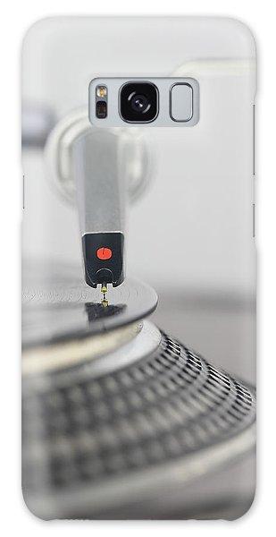 Closeup Of The Legendary Technics Sl 1200 Mk2 Turntable Galaxy Case