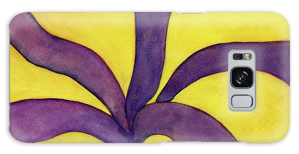 Closeup Of Yellow Rose Galaxy Case by Versel Reid