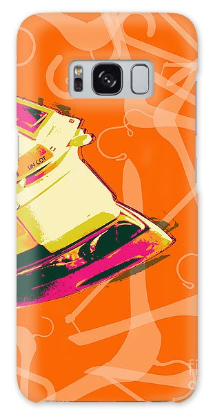 Clothes Iron Pop Art Galaxy Case