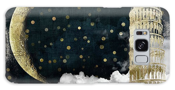 Cloud Cities Pisa Italy Galaxy Case by Mindy Sommers