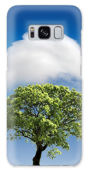 Cloud Cover Galaxy Case