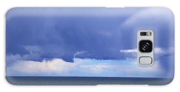 Galaxy Case featuring the photograph Cloud Curtain by Nareeta Martin