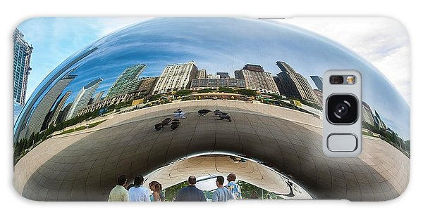 Cloud Gate Aka Chicago Bean Galaxy Case
