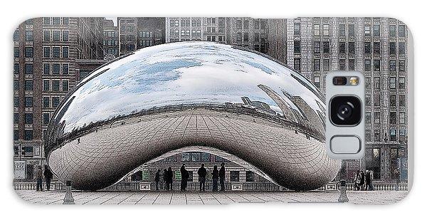 Galaxy Case featuring the digital art Cloud Gate by John Dyess