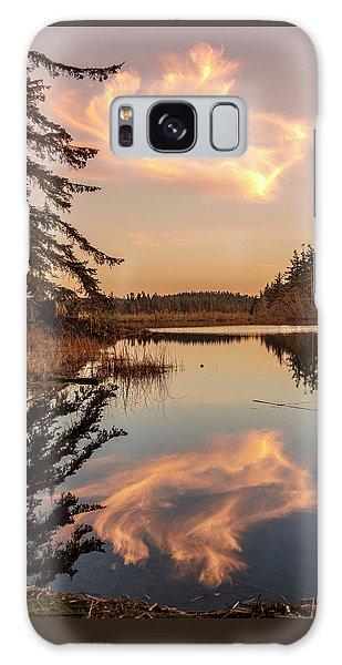 Cloud On Cranberry Lake Galaxy Case
