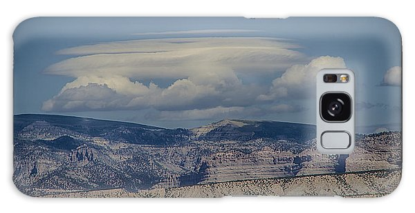 Cloud On Route 6 Galaxy Case by R Thomas Berner
