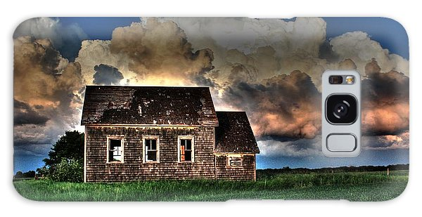 Cloud Over One Room School Galaxy Case