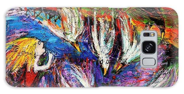 Cloud Street - Geraldton Seagulls Galaxy Case