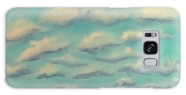 Cloud Study Cropped Image Galaxy Case