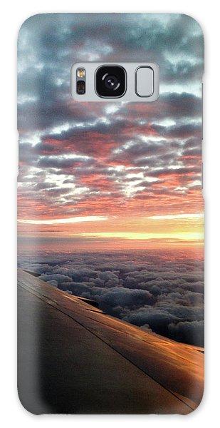 Cloud Sunrise Galaxy Case by Josy Cue