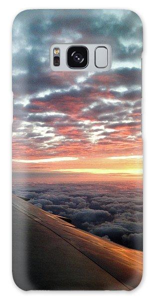 Cloud Sunrise Galaxy Case