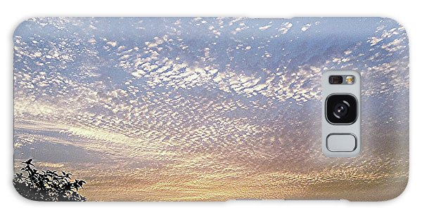 Cloud Swirl At Sunrise Galaxy Case