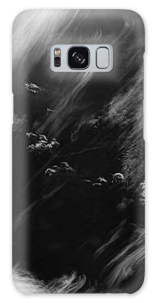 Galaxy Case featuring the photograph Cloud Wisp by Britt Runyon