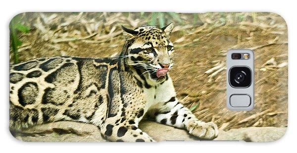 Clouded Leopard 1 Galaxy Case