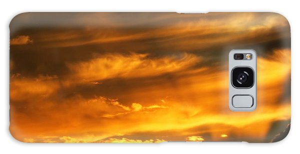 Clouded Sunset Galaxy Case by Kyle West
