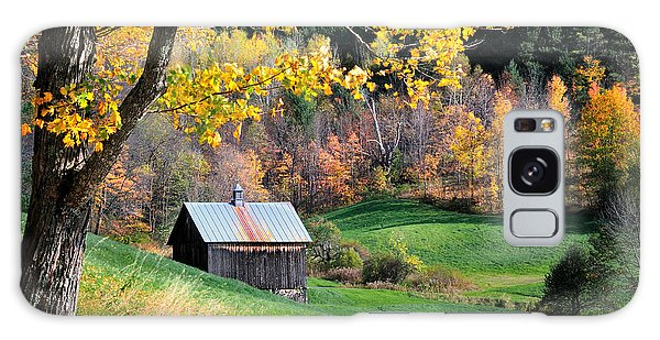 Cloudland Rustic Barn - Pomfret Vermont Galaxy Case