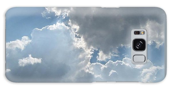 Clouds 1 Galaxy Case by Barbara Yearty