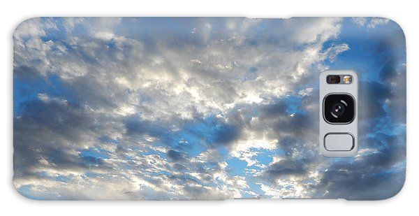 Clouds #4049 Galaxy Case by Barbara Tristan