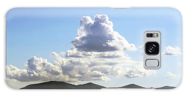 Clouds Above The Italian Mountains Galaxy Case